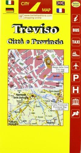 Treviso 1:10.000. Con guida turistica (Piante di città. City map)