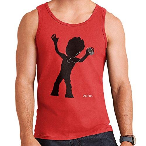 Guardians Of The Galaxy II Baby Groot Zune Advert Men's Vest Red