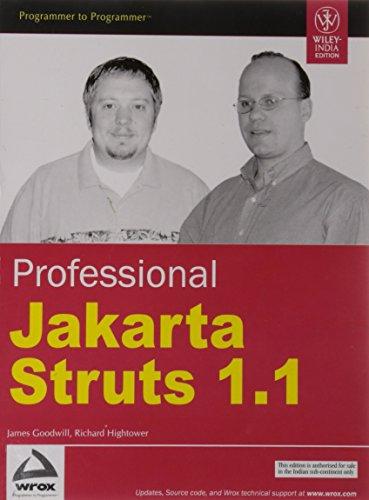 Professional Jakarta Struts 1.1