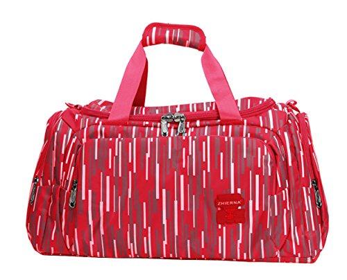 Keshi Leinwand neuer Stil Damen Handtaschen, Hobo-Bags, Schultertaschen, Beutel, Beuteltaschen, Trend-Bags, Velours, Veloursleder, Wildleder, Tasche Rot