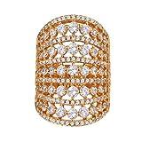 Suplight Regalo para Mamá Anillo elegante regalo para mujer con zirconia cúbica estilo elegante