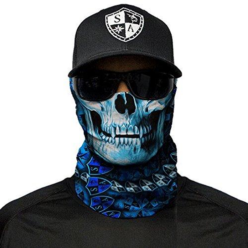 SA Company Face Shield Pasamontañas * * Varios Designs * * Multi unkti ONS Bandana Máscara Fishing Calavera bufanda cara máscara Pañuelo de esquí motocicleta Paintball, Hydro Skull