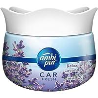 Ambi Pur Car Freshener Gel, Relaxing Lavender, 75 g