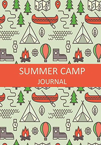 Summer Camp Journal: Summer Camp Journal with Prompts for Girls and Boys (Summer Journals for Kids) por Notebooks for Kids