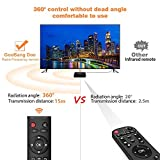 2017 GooBang Doo ABOX Pro Android 6.0 TV Box with Newest RF Remote Control (15 Meters Working Range ,360°Full Control ,No need to Point at TV Box)
