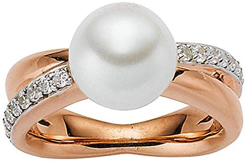 Viventy Damen-Ring Silber vergoldet rhodiniert Zirkonia weiß Gr. 56 (17.8) - 771661/56