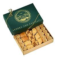 Vegan Baklava Baklawa, 24 Pieces, Chateau de Mediterranean, Gift Box with Ribbon 1