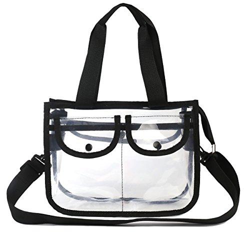 HOMPO® spritzwasserdicht transparent Kosmetik Handtasche Reisetasche Organizer