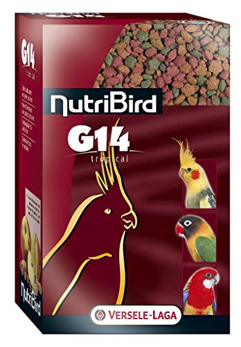 Versele Laga Pappagallino, Nutribird Mantenimento G14 Tropical 1 Kg