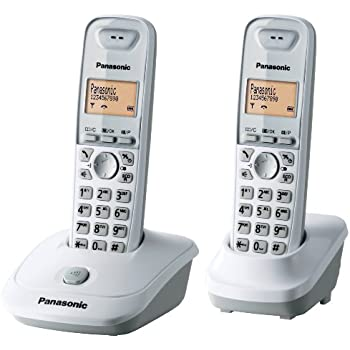 Panasonic KX-TG2512FRW Duo Téléphone sans fil DECT Mains-libres