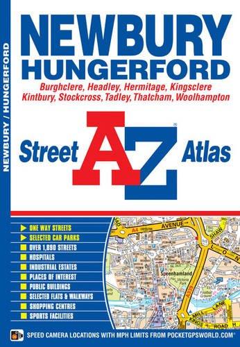 Newbury Street Atlas (A-Z Street Atlas S.)