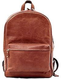 LE MARIOL Naturel sac à dos en cuir style vintage pour école loisirs PAUL MARIUS