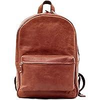LE MARIOL NATURAL Zaino vintage borsa di pelle scuola PAUL
