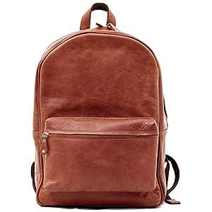 LE MARIOL Natural Bolso mochila de cuero satchel escuela PAUL MARIUS