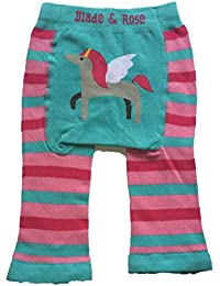 Hoja Y Rosa Unicornio Leggings