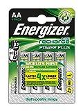 Batería: AA: recargables Energizer ACCU 2000 mAh (4 baterías)