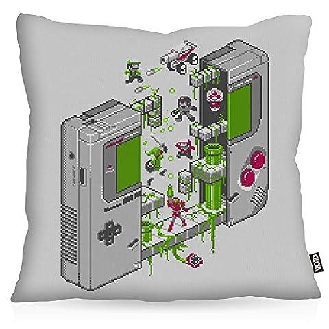 VOID 8-Bit Game Nostalgie Kissenbezug Kissenhülle Outdoor Indoor pixel boy,