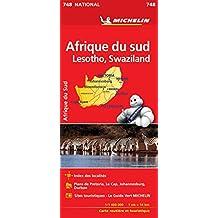Carte Afrique du Sud Michelin
