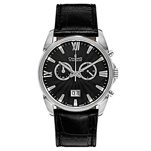 Montre - Charmex - 2666_blackdial;blackband
