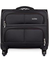 [Sponsored]The Clownfish Drifter Trolley 4 Wheel /44 Liters Rolling Laptop Case Luggage Bag/Trolley Bag|Trolley Bag(Black)