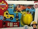 Fireman Sam Rescue Vehicle set de juego con el casco