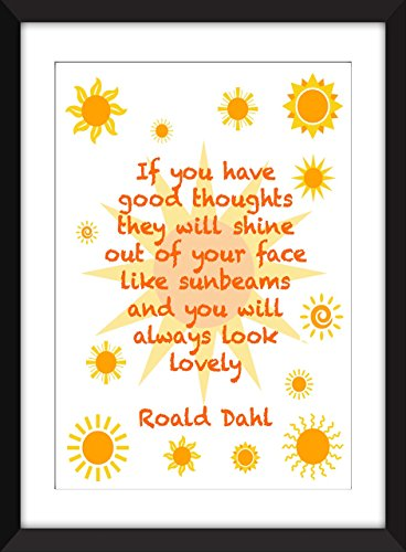 roald-dahl-rayons-de-soleil-unframed-imprimer-good-thoughts-quote