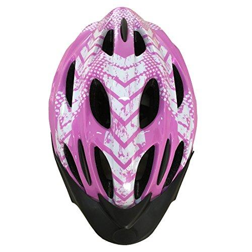 Yiyuan Fahrradhelm, Erwachsener Fahrrad-Sturzhelm-Fahrrad-Sturzhelm-Reithelm Road, Mountainbike Helm, Rosa und Blau Farbe, L (58-62cm), Y-02 (Rosa)