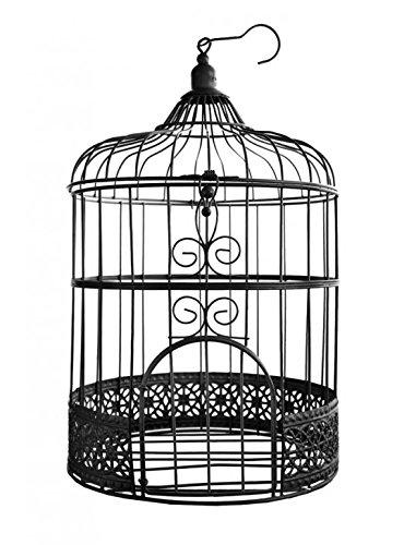 SANTEX 3871-11, Tirelire Cage métal, en Noir