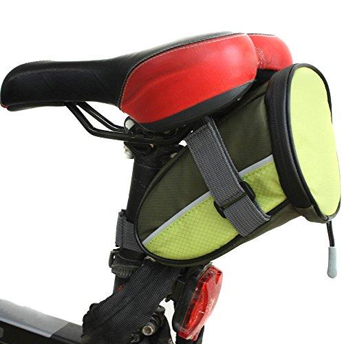 Docooler Bicicletta Sicurezza Allarme Indicatore Luce di segnalazione telecomando Outdoor Ciclismo Borsa sedile posteriore posteriore per bicicletta sella borsa - Biciclette Pannier