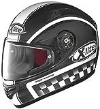 X-Lite X-603 Ride - Integralhelm, Farbe matt-schwarz-flag, Größe XS (53/54)