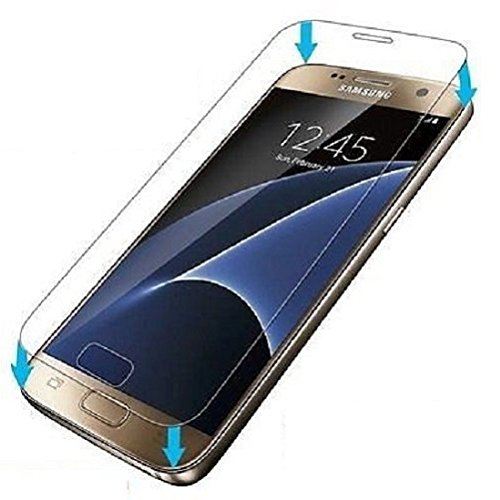 Galaxy S7 Tempered Glass Screen Protector, New Horrizon Samsung S7 Premium Ultra Thin Lightweight Premium Quality Explosion-proof Hardness Tempered Glass Film for Samsung Galaxy S7 Test