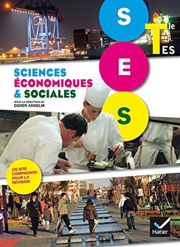 Sciences Economiques et Sociales Tle ES d. 2012 - Manuel de l'lve (format compact)