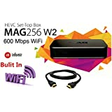 MAG 256 W2 Iptv set top box W/600 Mbps WiFi