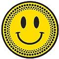DMC Turntable Slipmats (1 Pair) - Black/Yellow