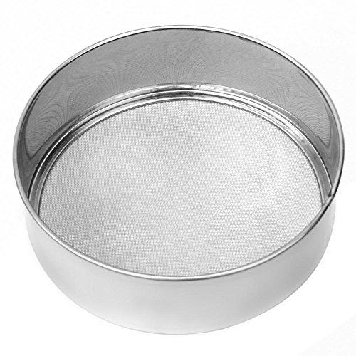 Blue Vessel Edelstahlgewebe Mehl Sifting Sichter Sieve Sieb Kuchen-Backen-Küche