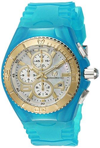 technomarine-technomarine-damen-armbanduhr-armband-silikon-blau-gehuse-edelstahl-quarz-analog-115265