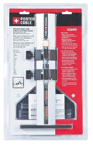 Porter-cable 42690Edge Guide (pour les modèles 100, 690, 691, 693, 891, 892, 893routeurs)