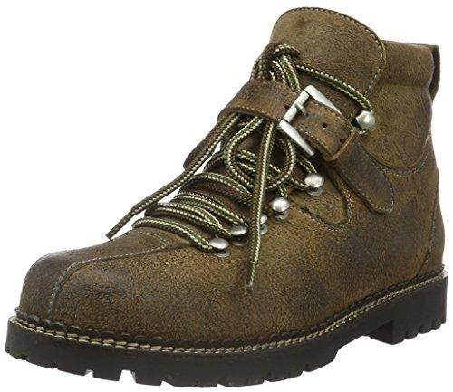 Stockerpoint Schuh 4445, Herren Kurzschaft Stiefel, Braun (tabak gespeckt), 41 EU