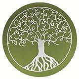 maylow - Yoga mit Herz - Yogakissen Meditationskissen mit Stickerei
