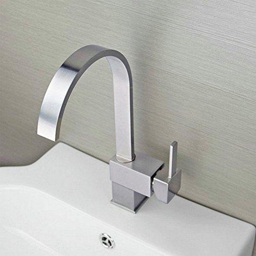 cromo-rubinetto-da-lavello-cucina-singolo-lato-leva-quadrato-bocca