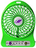 #2: Unbranded Mini Portable Usb Rechargeable 3 Speed Fan Colors May Vary