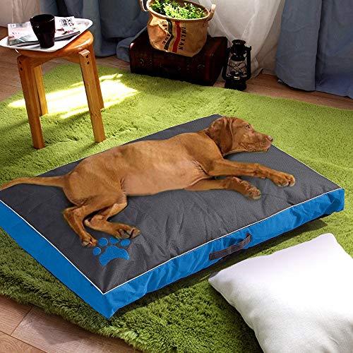 Vollständig zerlegbar Waschbar Sommer Hundehütte Hundeauflage Wasserdichte Oxford-Stoff-Haustiermatte Geeignet für große und mittlere Hunde und Katzen Schlafsofa Heimtierbedarf - Stoff-schlafsofa