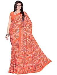 Aaradhya Fashion Crepe Saree (Afmoss-0115_Pink)