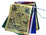 51Sh4cFa%2BgL. SL160  UK BEST BUY #1Hands Of Tibet Small Wind Horse Tibetan Prayer Flags Set Of 10 price Reviews uk