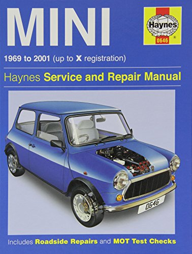 Austin Mini Reparatur Handbuch Haynes Handbuch Werkstatt Service manuell