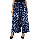 #10: Jaipur Classic Printed Cotton Pants Palazzo for Women Girls Free Size
