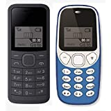 I KALL 1.44 Inch Feature Phone Combo - K73 (Black) And K71 (Light Blue)