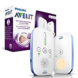 Philips Avent SCD501/00 DECT Babyphone (Smart Mode ECO, veilleuse)