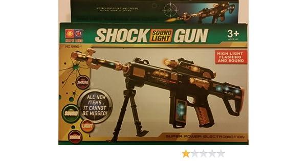SUPER POWER ELECTROMOTION HOPE LONG SOUND SHOCK GUN HIGH LIGHT FLASHING