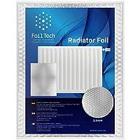 Foil Tech RadPack lámina térmica (5 m x 60 cm), para ahorro de energía en radiador, reflector de calor, aislamiento
